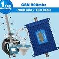 С высоким Коэффициентом Усиления 2 Г GSM 900 Сотовый Ретранслятор Сигнала ЖК-Дисплей 70dBi Мобильный Телефон Усилитель GSM Телефон 900 мГц Сотовой ретранслятор