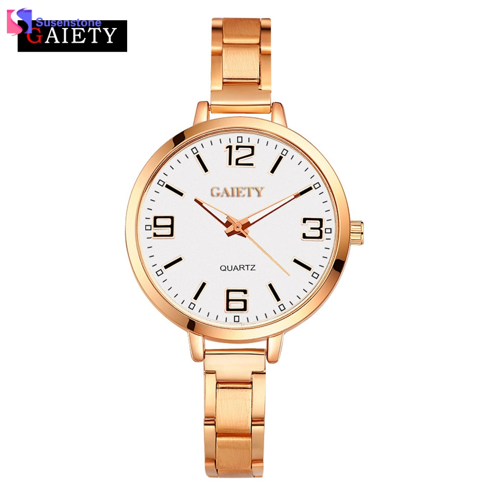 Top Luxury Brand Fashion Quartz Watch Women Ladies Stainless Steel Bracelet Watches Casual Clock Female Relogio Feminino women men quartz silver watches onlyou brand luxury ladies dress watch steel wristwatches male female watch date clock 8877