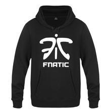 Men Women Spring Autumn Games Fnatic Team LOGO Pullover Clothing Casual Sweatshirts Hoodies Jacket Coat