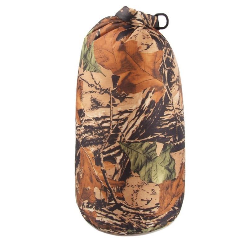 Camouflage Portable 8L Waterproof Dry  Bag For Canoe Kayak Rafting Camping Hiking