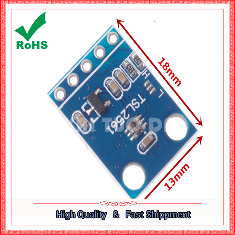 GY-2561 TSL2561 Light Intensity Module TSL2561 Light Intensity Module board Sensor