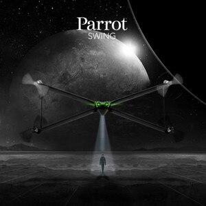 Image 2 - Original New Parrot Altalena Mini Macchina Fotografica Drone/Quadcopter con Flypad X wing Orizzontale Verticale Velivoli di Controllo A Distanza