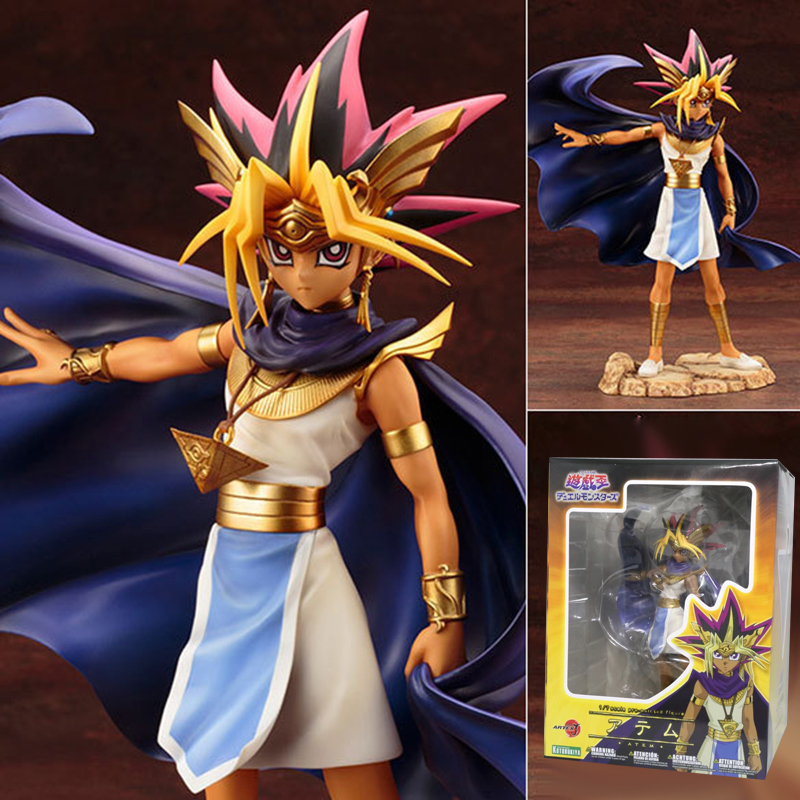 24cm Anime Yu-Gi-Oh Duel Monsters Action Figure PVC New Collection Figures Toys Collection for Christmas Gift [sgdoll] 2017 new anime yu gi on duel monsters yami yugi 1 7 pvc figure no box hot sale free shipping 5278 l