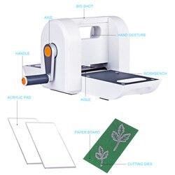 Surwish DIY Stansen Embossing Machine Scrabooking Alubm Card Cutter Tool-Wit