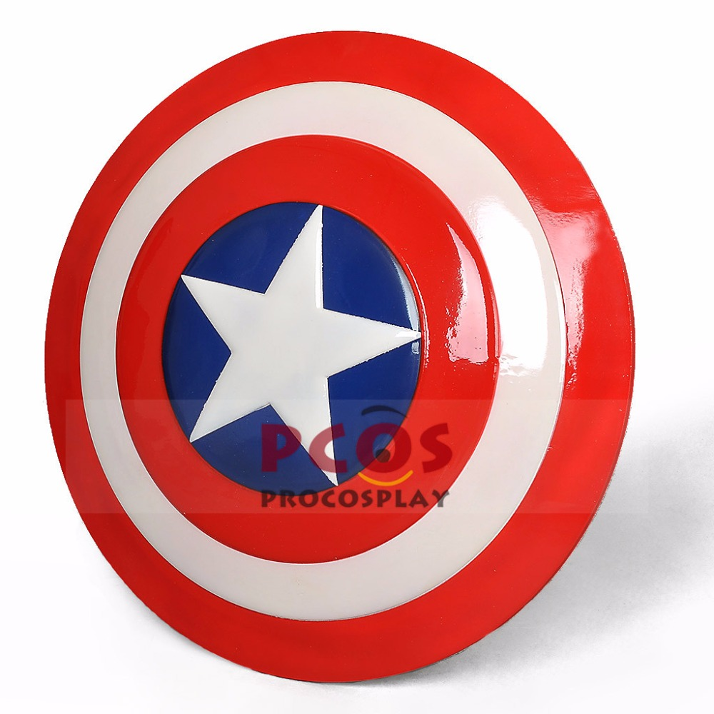 IN STOCK!! 1/1 ABS SHIELD Props Replica The Avengers CAPTAIN AMERICA Steve Rogers COSPLAY mp001512 new marvel the avengers age of ultron captain america cosplay costume steve rogers outfits adult superhero costume