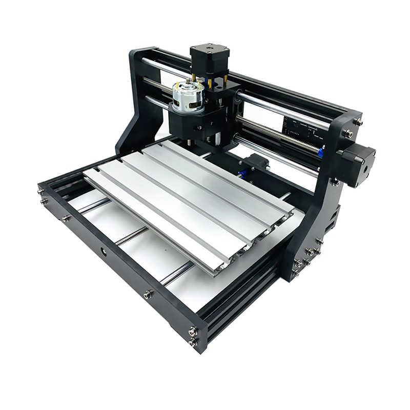 Baru CNC 3018 Pro Grbl DIY Mini Mesin CNC 3 AXIS PCB Penggilingan Mesin Bluetooth Router Kayu Laser Engraving CNC3018 bekerja Secara Offline