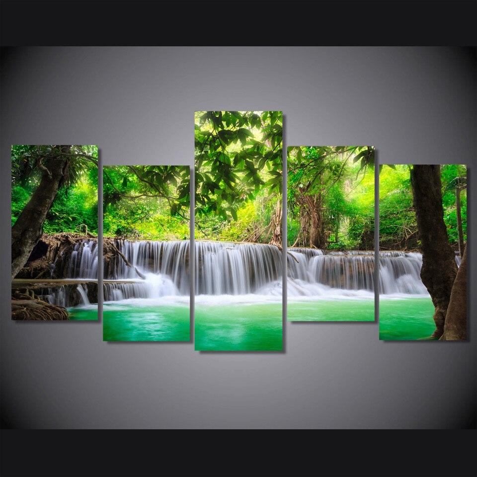 Online kopen Wholesale tropische canvas schilderijen uit China ...