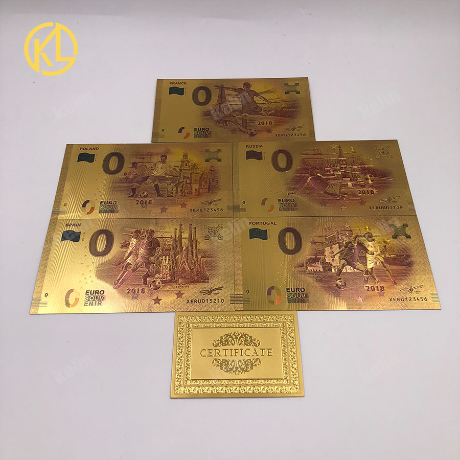 US $7 55 32% OFF|Aliexpress com : Buy 10pcs/lot 2018 Russia football  Banknote promotional Gifts 0 Euro Mona Lisa Smile Banknote for football  fans With