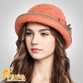 Women Artist Beret Cap French Style Solid Colors100% Wool  Soft Felt Beanie Hat, Ladies Fashion Classic Berets  B-0724