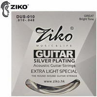 Free Shipping Elixir 012 053 Nanoweb 16052 Acoustic Guitar Strings Guitar Parts Wholesale