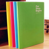 1Pc Solid Notepad Candy Colored Notebook Lovely Pouches Diary Book Office School Supplies