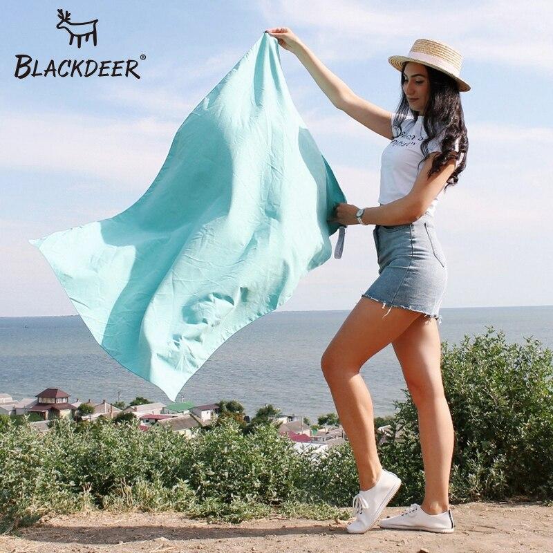 BLACKDEER Outdoor Microfiber Towel Camping Sport Swimming Beach Bath Towels Hand Face Body Antibacterial Hiking Travel Quick Dry