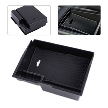 DWCX Car Black Center Console Armrest Storage Box Container Tray Holder Fit For Toyota Sienna 2011 2012 2013 2014 2015 2016 2017 hot black armrest storage box storage box armrest center console for honda fit 2014 2015 only fit for low equiped model