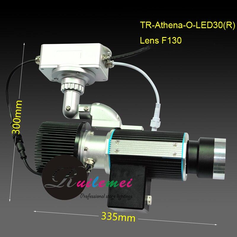 Exterior 2800 Lumens Mini Portable 30W LED Rotating