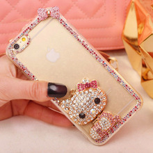 Diamentowe Hello Kitty etui do iPhone