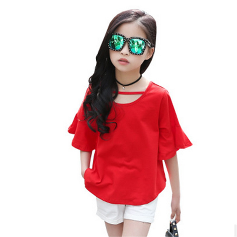 GH5095 baby girls clothes kids girls fashion sets children casual summer suit for baby girl t shirt and shots 2017 new arrival