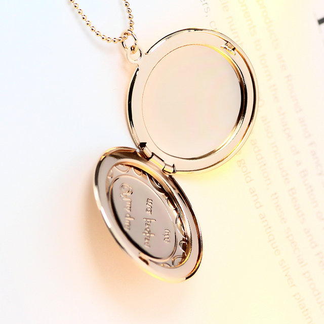 Couple open pocket watch shape round lockets pendant photo locket couple open pocket watch shape round lockets pendant photo locket necklace 10pcslot free shipping in pendant necklaces from jewelry accessories on aloadofball Images
