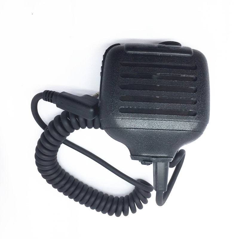 2PIN Walkie Talkie Microphone For Motorola GP88 GP300 GP3188 GP3688 CP1300 CP1600 Two Way Radios