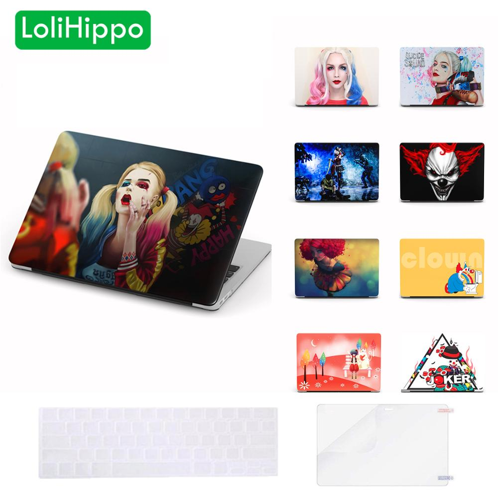 LoliHippo Clown Series Laptop Protective Case for font b Apple b font font b Macbook b