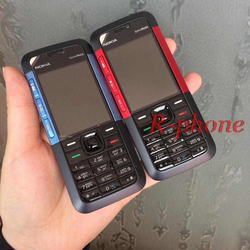 Asli Nokia 5310 Xpressmusic Ponsel Diperbaharui Ponsel Unlocked