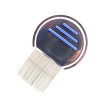 1 шт., расческа из нержавеющей стали для удаления вшей,, для детей, для удаления волос с головы, супер плотность зубных щеток, расческа для удаления металлических зубов