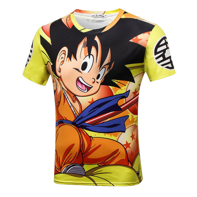 NEW Dragon Ball Graphic T-Shirts 2017