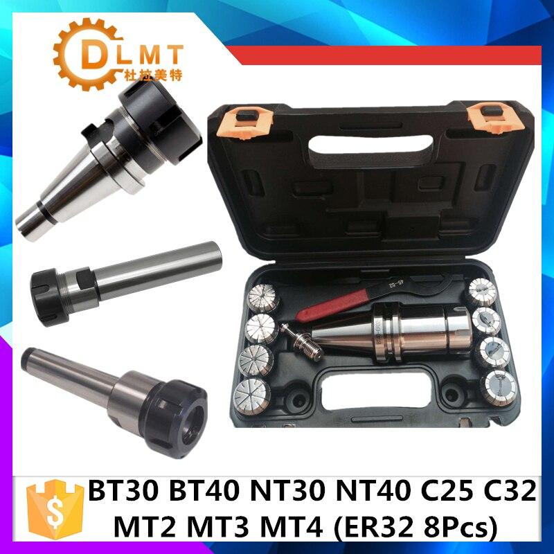 BT30 BT40 NT30 NT40 MT4 MT3 MT2 C25 C32 ER32 8 pc Tour De Fraisage Mandrin De 3 à 3 -20mm
