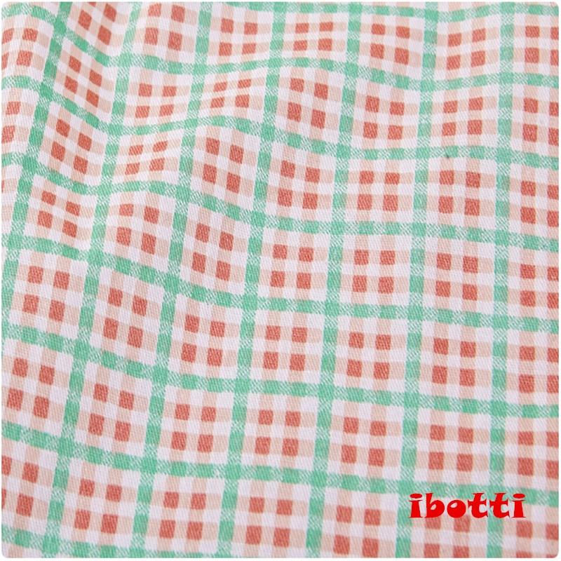 ibotti 4db / Lot 40 * 50cm Rózsaszín Virágos Plaid-sorozat 100% - Művészet, kézművesség és varrás - Fénykép 5