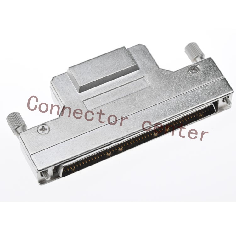 SCSI HPCN DB Connector  metal Hond   1.27mm 100Pin male-in Connectors from Lights & Lighting    1