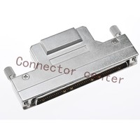 SCSI HPCN DB Connector metal Hond 1.27mm 100Pin male