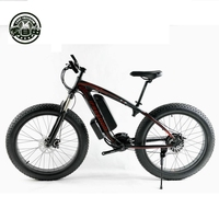 Love Freedom Electric Bike 48V 10AH 500W 21 Speed Electric Snow Bicycle 26 Inch 4 0