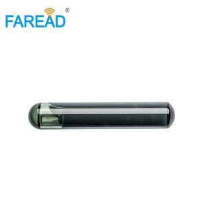 Image 1 - X10pcs 4*22mm ISO11784/5 EM4305 Bioglass RFID passivo tag Microchip per lidentificazione degli animali di vetro a bassa frequenza