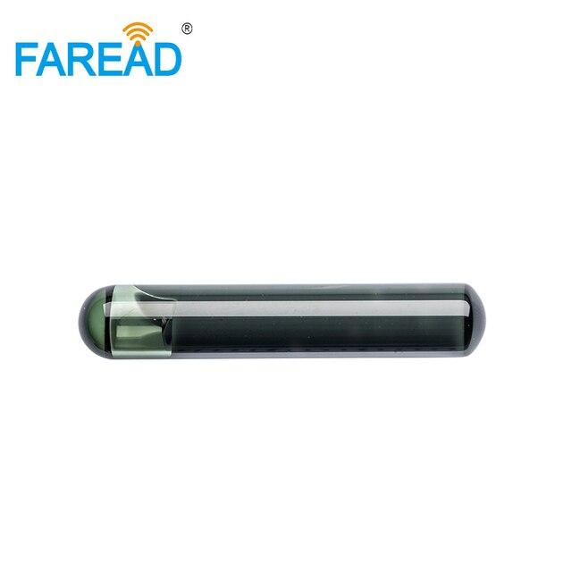 X10pcs 4*22mm ISO11784/5 EM4305 Bioglass RFID passivo tag Microchip per lidentificazione degli animali di vetro a bassa frequenza
