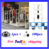 Top Quality Eas System Security Door X2 Piece Free Shipping Eas Antenna Retail Clothing Store Anti