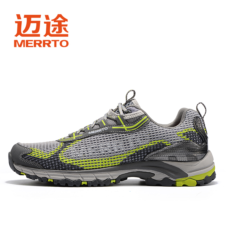 MERRTO Mens Breathable Sports Outdoor Trekking Hiking Shoes Sneakers For Men Sport Climbing Mountain Shoes Man Senderismo купить