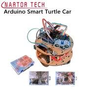 Салона автомобиля обучения комплект робот автомобиля Робот для Arduino Smart Черепаха линия отслеживания графического программирования образов