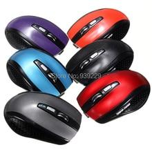 A estrenar multi-colores ¡ 3.0 Bluetooth 6 botón del ratón inalámbrico 1200 DPI con seguimiento láser