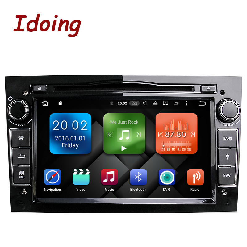 Idoing Android6 0 2G RAM 8Core 2Din For Opel Vectra Corsa D Astra H Fast Boot