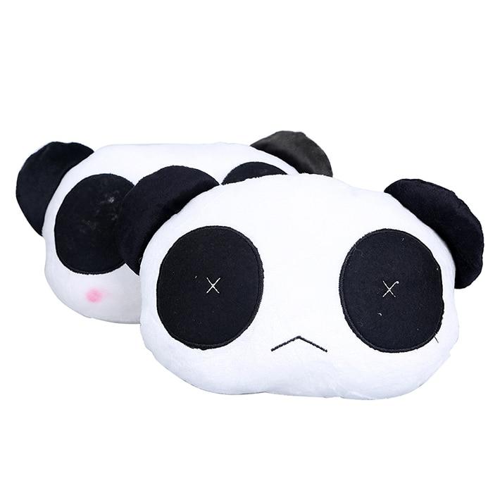 1pcs Cute Lovely Panda Car Support Car Neck Headrest Soft Back Cushion Car Seat cover Car Accessaries