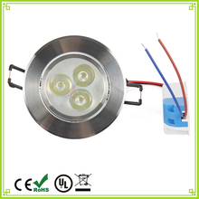 1pcs Ultra Bright 3W 6W Led Ceiling Recessed Downlight Round Panel light  Led Panel Bulb Lamp Light