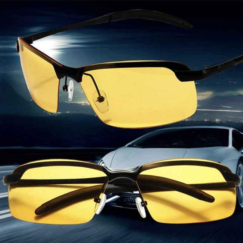 0cb2a78031 Anti-glare Polarizer Car Drivers Night Vision Goggles Polarized Driving  Glasses Copper Alloy Sunglasses Auto