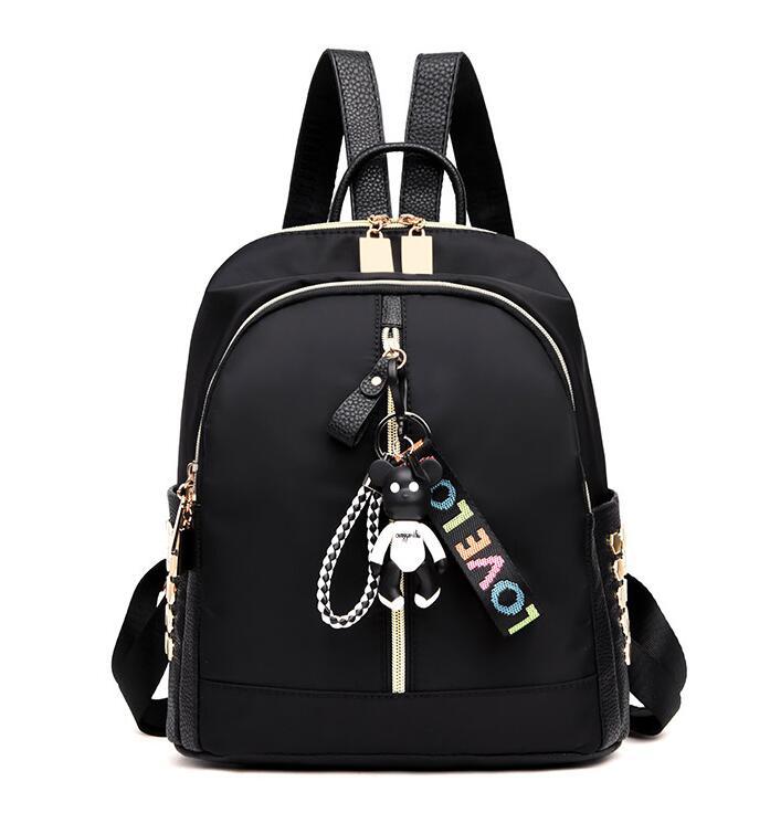Women Backpacks Waterproof Oxford Back Pack for Girls Simple Style School Bags Youth Ladies Daily Bagpack