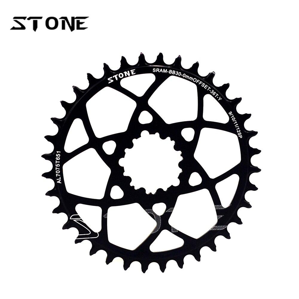 Stone MTB Bike Single Chainring Chain Ring For BB30 cx xx1 x9 x1 32T 34T 36T