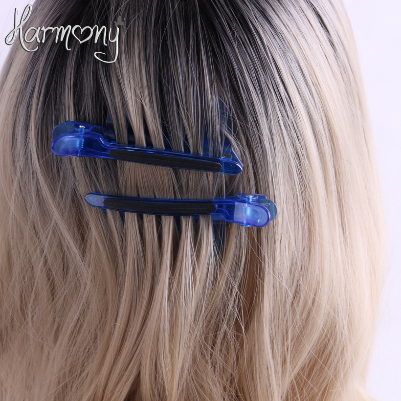 2pcpair Wholesale Price Easy Blue Color For Hair Extension Blue