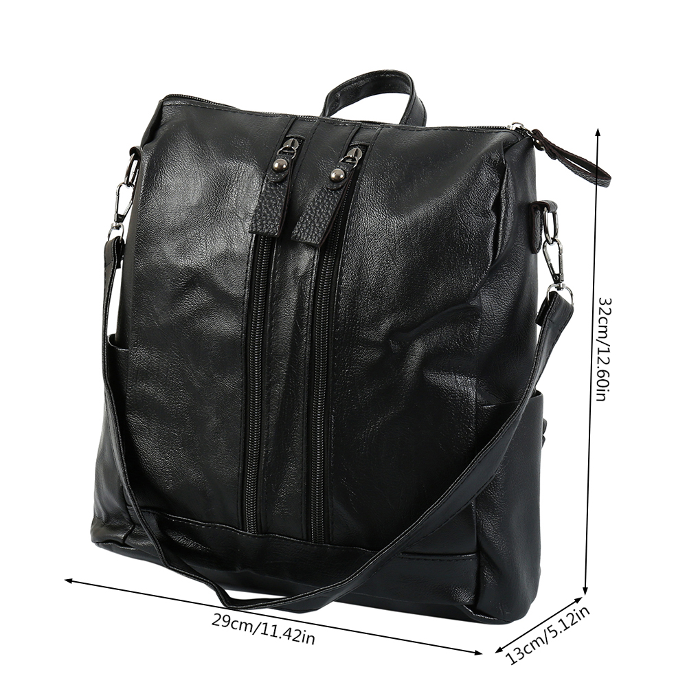 Women Handbag Female PU Leather Bags Handbags Ladies Portable Shoulder Bag Office Ladies Hobos Bag Totes 3
