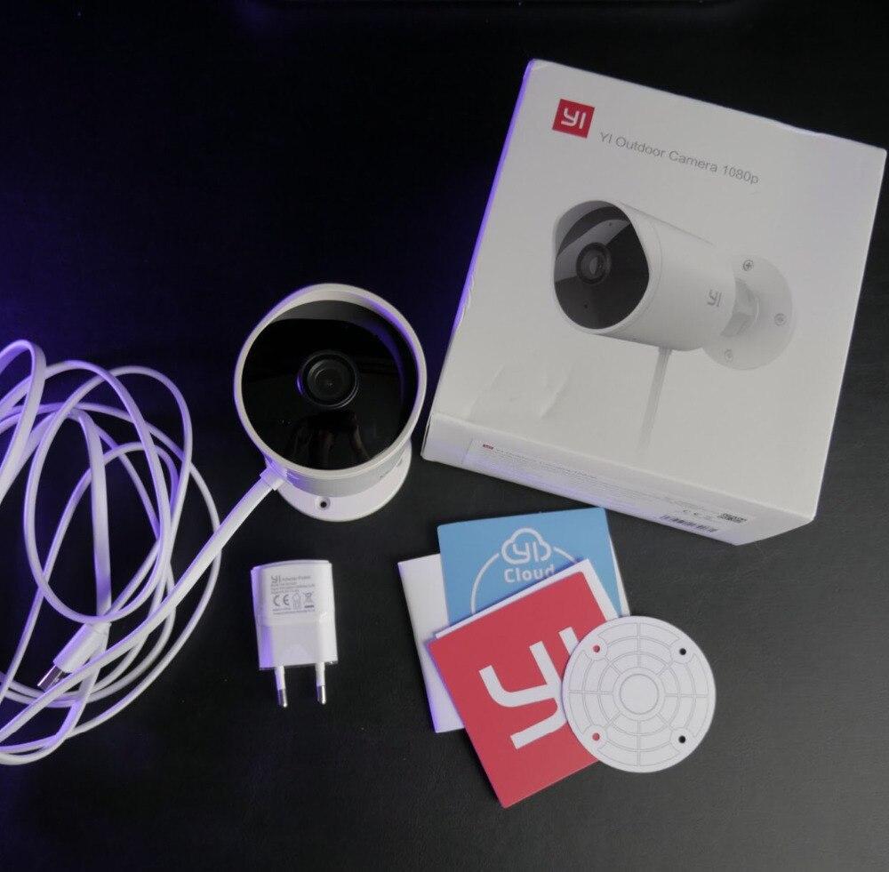 YI caméra de sécurité extérieure Cloud Cam sans fil IP 1080 p plafond caméra Ip extérieure Vision nocturne système de Surveillance de sécurité blanc - 6