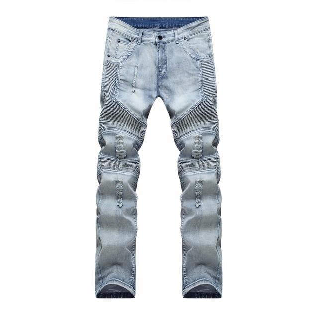 Pantalon Jeans Homme déchiré 2