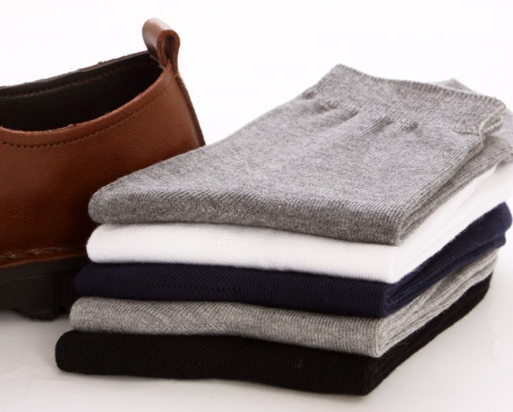 Free Shipping 40pcs=20 pairs Mans Cotton Socks