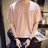 Hot sell fashion popular men's T shirt summer day