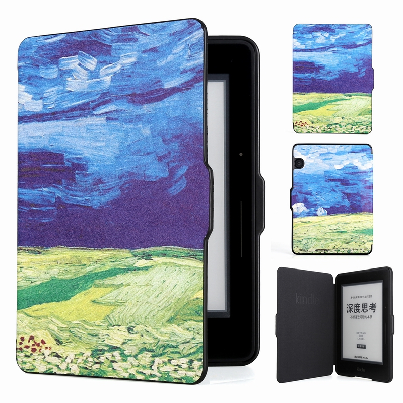 Pour Amazon Kindle Voyage étui de protection 6 pouces pour Kindle Voyage étui modèle 1499 tout compris Ultra-mince étui pour Kindle
